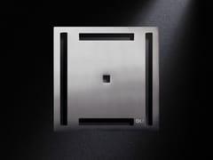 Scarico per doccia in acciaio satinatoGRIGLIA RIGO | Scarico per doccia in acciaio satinato - OLI