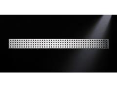 Scarico per doccia in acciaio satinatoGRIGLIA QUADRO 770 | Scarico per doccia in acciaio satinato - OLI