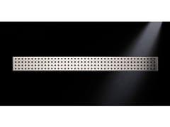 Scarico per doccia in acciaio satinatoGRIGLIA TONDO 770 | Scarico per doccia in acciaio satinato - OLI