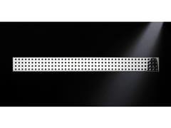 Scarico per doccia in acciaio lucidoGRIGLIA QUADRO 770 | Scarico per doccia in acciaio lucido - OLI