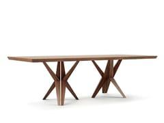 Tavolo rettangolare in legnoTRIOLA - BELFAKTO
