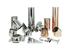 Stainless steel flues