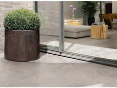 Pavimento per esterni in gres porcellanato effetto pietraSTONETRACK - CERAMICHE SUPERGRES