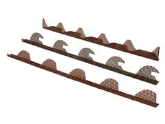 Tegolaia, Elemento e griglia di ventilazione Griglia aerazione parapasseri metallica preverniciata