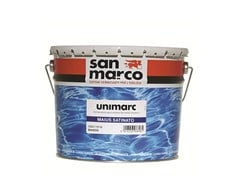 Smalto murale inodore antimuffaUNIMARC MAIUS SATINATO - SAN MARCO GROUP
