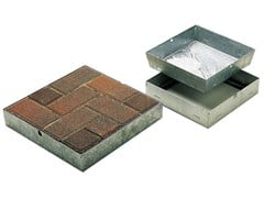 Chiusino e griglia per impianto idrosanitario Chiusino e griglia per impianto idrosanitario -