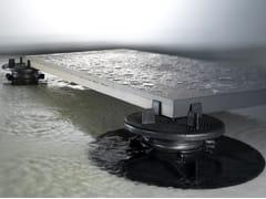 NEWFLOOR, X-FLOOR Pavimento sopraelevato da esterno e interno