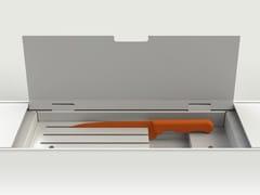 Accessorio per canale attrezzato EASYRACK KITCHEN FLAT | Portacoltelli - EasyRack Kitchen Flat