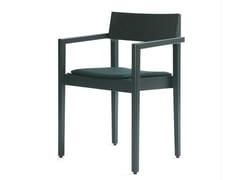 Sedia in legno con braccioli INTRO B   Sedia - Intro