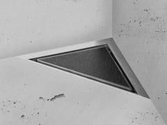 Scarico per doccia in acciaio inoxAQUA JEWELS DELTA - EASY SANITARY SOLUTIONS