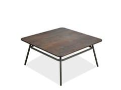 Tavolino da giardino quadrato PORTOFINO | Tavolino quadrato - Portofino