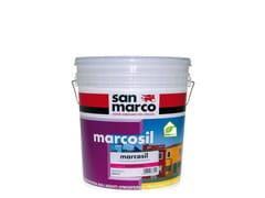 Pittura riempitiva ai silicati per esternoMARCOSIL RIEMPITIVO - COLORIFICIO SAN MARCO