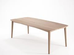 Tavolo da pranzo rettangolare in teak GRASSHOPPER | Tavolo rettangolare - Grasshopper