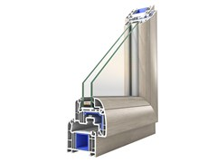 Finestra con doppio vetro in PVC PROLUX - Prolux