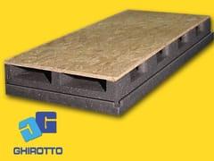 Sistema per tetto ventilato in polistireneAIRVENT 28 GRAFITE VENTILATO - GHIROTTO TECNO INSULATION