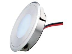 Segnapasso a LED a pavimento con sistema RGBBURY 4 - TEKNI-LED