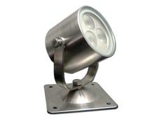 Proiettore per esterno a LED orientabile in acciaio inoxSHARK 3 - TEKNI-LED