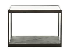 Tavolino quadrato in vetro MONACO | Tavolino quadrato - Monaco