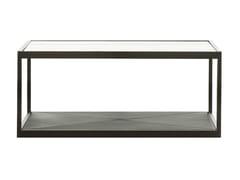 Tavolino rettangolare in vetro MONACO | Tavolino rettangolare - Monaco