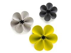 HEY-SIGN, SILENT FLOWER Pannello acustico a parete in feltro