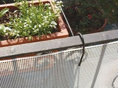 Protezione per balconi QUADRA 5 - Protezioni in plastica