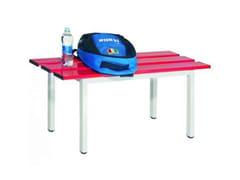 Panchina per impianti sportiviBE/01/M/EA/AL/I | Panchina per impianti sportivi - CASTELLANI.IT