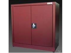 Mobile ufficio basso con ante a battente con serraturaZTP704080 | Mobile ufficio - CASTELLANI.IT