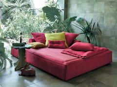 Letto da giardino in tessuto ACADEMY PIUMA SOMMIER - Design