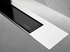 Scarico per doccia MODULO DESIGN Z-3 VETRO NERO + LUCIDO - Modulo Design