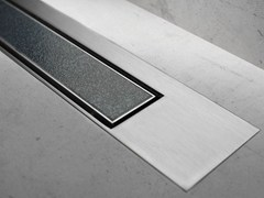 Scarico per doccia MODULO DESIGN Z-3 PIASTRELLA + SATINATO - Modulo Design