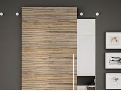 Metalglas Bonomi, Indipendent V-8040 Sistema scorrevole per porte in vetro e legno