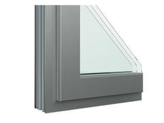 Finestra in alluminio e legno con anta in FibexSerie 503H - AGOSTINIGROUP