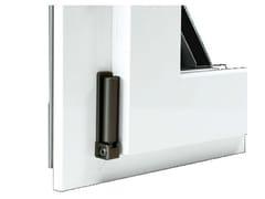 Agostinigroup, Serie 503 Finestra in alluminio e legno con anta in Fibex