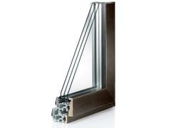 Finestra in alluminio e legno con anta in FibexSerie 503 - AGOSTINIGROUP