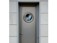 Porta d'ingresso in alluminio e legno per esterno su misuraPorta d'ingresso in alluminio e legno - AGOSTINIGROUP
