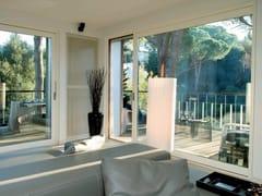 Porta-finestra alzante scorrevole in alluminio e legnoPorta-finestra alzante scorrevole - AGOSTINIGROUP