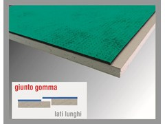 Lastra in cartongesso fonoisolante CARTONGUM - THERMAK BY MATCO