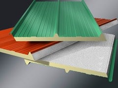 ISOTECNICA, MONOLAMIERA 3 Pannello metallico coibentato per copertura