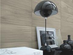 Rivestimento in gres porcellanato effetto legno per interni ULIVO | Rivestimento - Granitoker