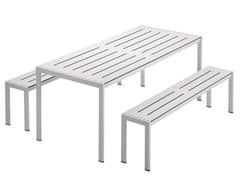 Tavolo da giardino in acciaio SANMARCO 2571 -