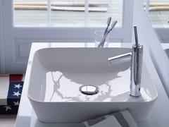 Lavabo da appoggio quadrato in DuraCeram® CAPE COD | Lavabo quadrato - Cape Cod