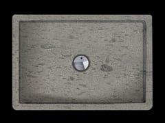 RAMA 1956, RUBINO Piatto doccia rettangolare in pietra naturale