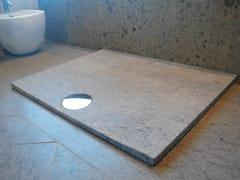 RAMA 1956, ZAFFIRO Piatto doccia rettangolare in pietra naturale