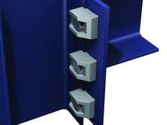 Rampone connessione acciaio high frictionRAMPONE MORSETTO TIPO BY - ARTSTEEL