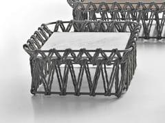 Tavolino quadrato in marmo e fibre di polietileneBUTTERFLY | Tavolino quadrato - B&B ITALIA OUTDOOR, A BRAND OF B&B ITALIA SPA