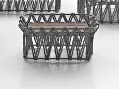 Tavolino rettangolare in frassino e fibre di polietilene BUTTERFLY | Tavolino rettangolare - Butterfly