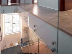 Metalglas Bonomi, Distanziali Fissaggio per parapetti in acciaio inox