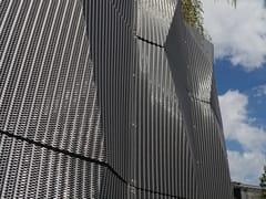 Rivestimento tridimensionale per facciate3D | Tela metallica e tessuto metallico per facciata in metallo - HAVER & BOECKER OHG