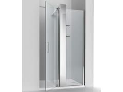RELAX, KUBIK PLUS N Box doccia a nicchia in cristallo con colonna