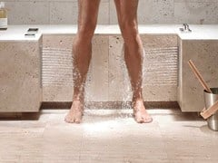 Dornbracht, COMFORT SHOWER - LEG SHOWER Soffione laterale da incasso